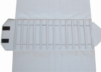Roll for Chain-Roll, 12 cases (280x46 mm) + elastic bands